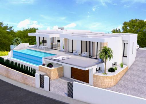 Villa - New Build - Moraira - La Sabatera