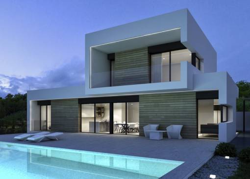 Villa - New Build - Benissa - La Fustera