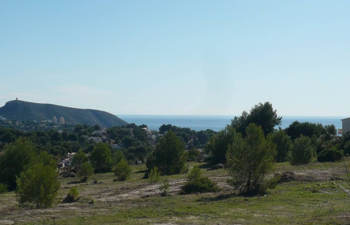 Resale - Plot of Land - Moraira