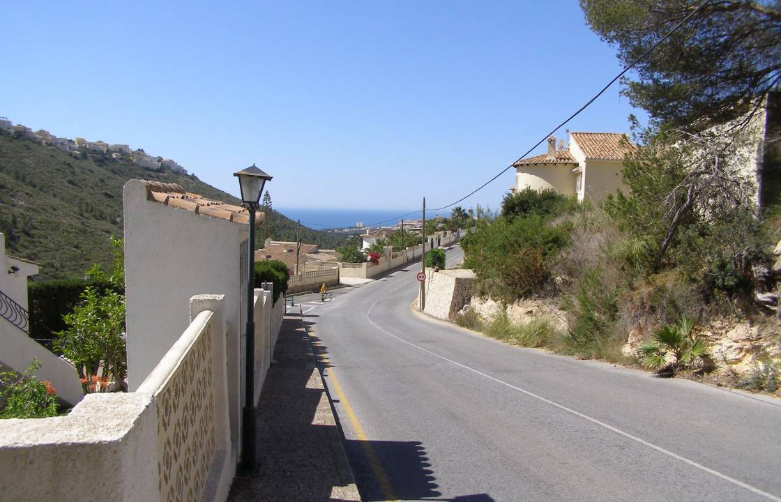 Resale - Plot of Land - Benitachell - Valle del Portet