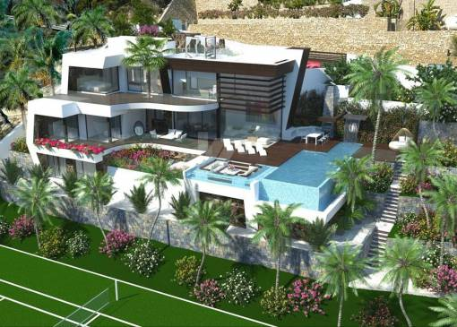 Villa - New Build - Benissa - Racó de Galena