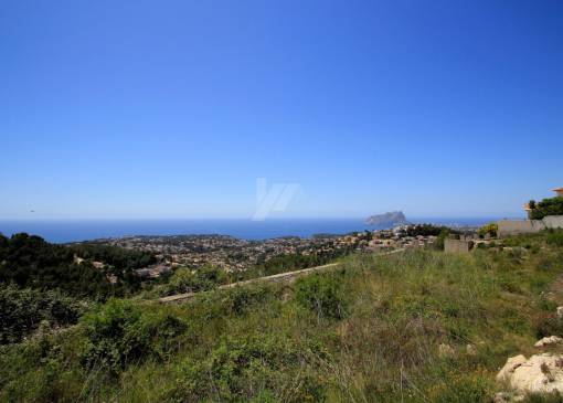 Plot of Land - Resale - Moraira - Coma de los Frailes