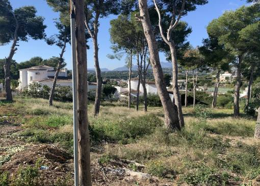 Plot of Land - Resale - Moraira - Pla de Mar